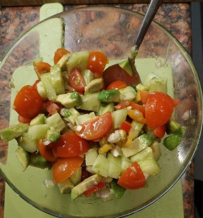 Ready Avocado Summer Salad