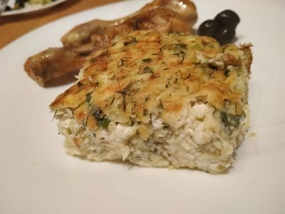 Greek Style Courgette Casserole