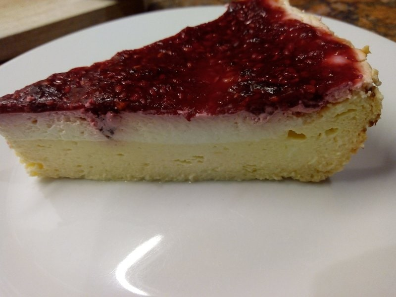 Raspberry Cheese Pie
