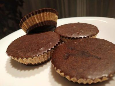 Chocolate Crunchy Peanut Butter Cupcakes