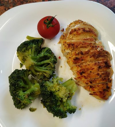 Buttery Chicken Breast Peri Peri