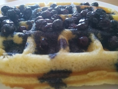 Ready Sweet Blueberry Waffles